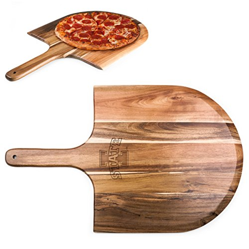 PICNIC TIME NCAA Iowa State Cyclones Acacia Wood Pizza Peel by PICNIC TIME (Image #2)