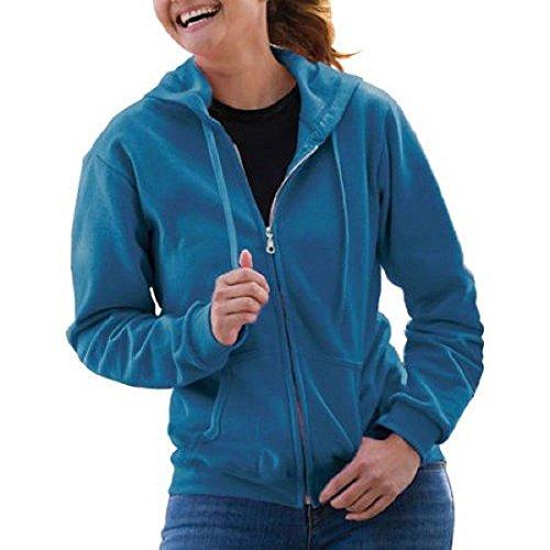 Carolina Womens Hoody Zip Sweatshirt - 6