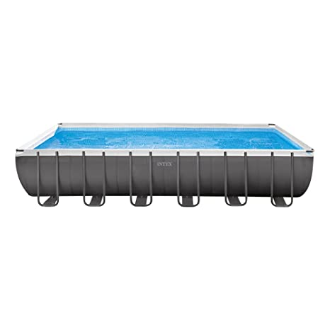 Intex 26362NP - Piscina desmontable Ultra Frame 732 x 366 x 132 cm, 31.805 litros
