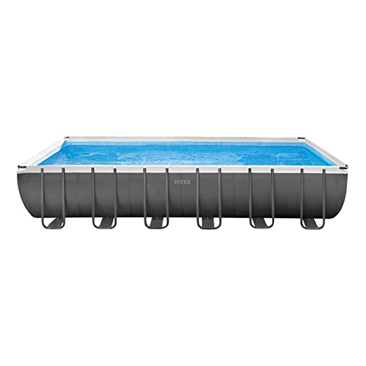 Intex Ultra Frame Piscina Desmontable, 31805 litros, Gris ...