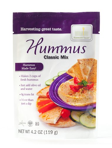 (Harmony Valley Classic Hummus, 4.2 oz (Pack of 6))