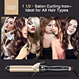 Curling Iron 1 1/2-inch Instant Heat with