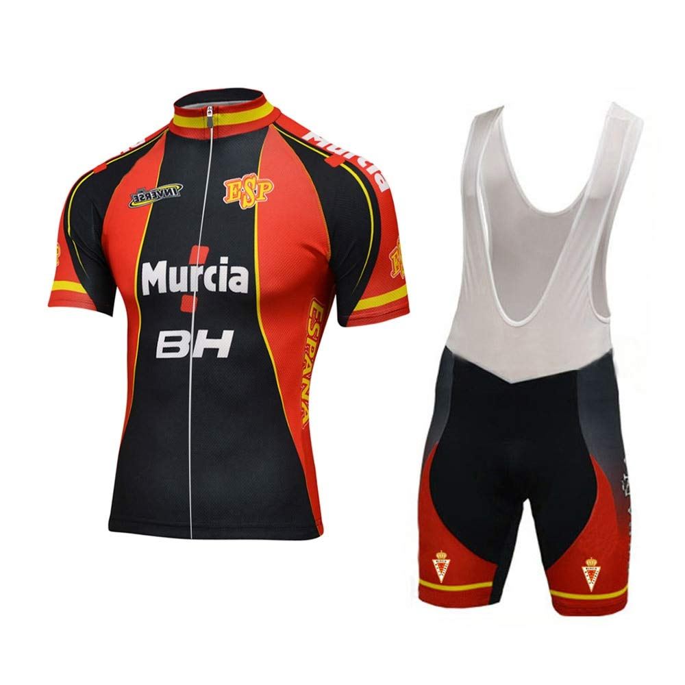 Amazon.com : Best Go Pro Men Classica Spain Cycling Jersey ...