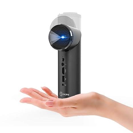 Amazon.com: KIXIN K5G Smart Mini proyector Wi-Fi con lente ...