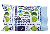 Kid's Pillowcases - Personalize your SMALL BUT STRONG Pillow Case - Cool kid's gifts for Slumber Party, Summer Camp & Get Well - Fun gifts for girls and boys
