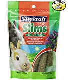 Vitakraft Alfalfa Slims Nibble Stick Treats for Rabbits - 4 PACK