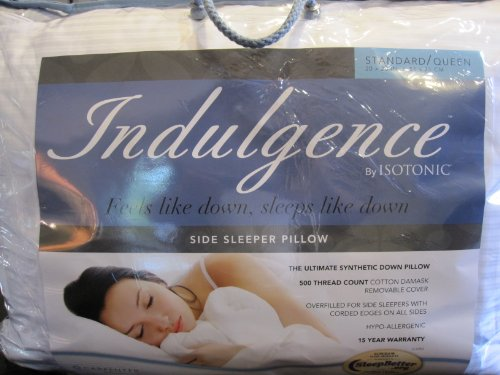 Indulgence Standard/Queen Side Sleeper Pillow by Isotonic 28