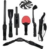 CTA Digital Wii Sports Resort 8-in-1 Sports Pack (Black) by CTA Digital