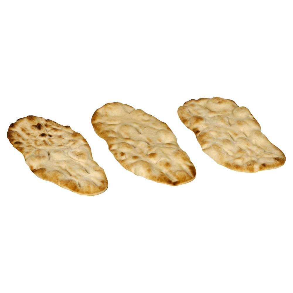 La Brea Bakery Plain Naan Flatbread, 3.4 Ounce -- 54 per case.