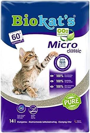 Gimborn Arena para Gato Biokats Micro Classic, 14L