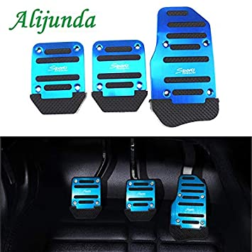 Amazon.com: Aluminum Auto Parts Air Brake Pedal Pedi Styling Sticker Cover for Citroen Peugeot 206 207 208 301 307 308 407 2008 3008: Kitchen & Dining
