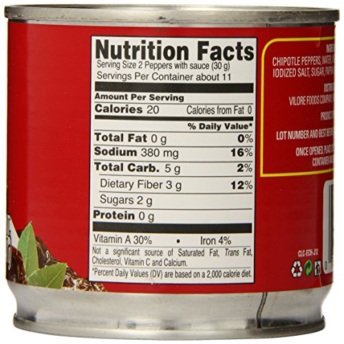 La Costena Chipotle Peppers, 12 Ounce (Pack of 12) by LA COSTENA (Image #3)