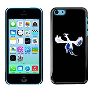 LECELL -- Funda protectora / Cubierta / Piel For Apple iPhone 5C -- Blue Bird --