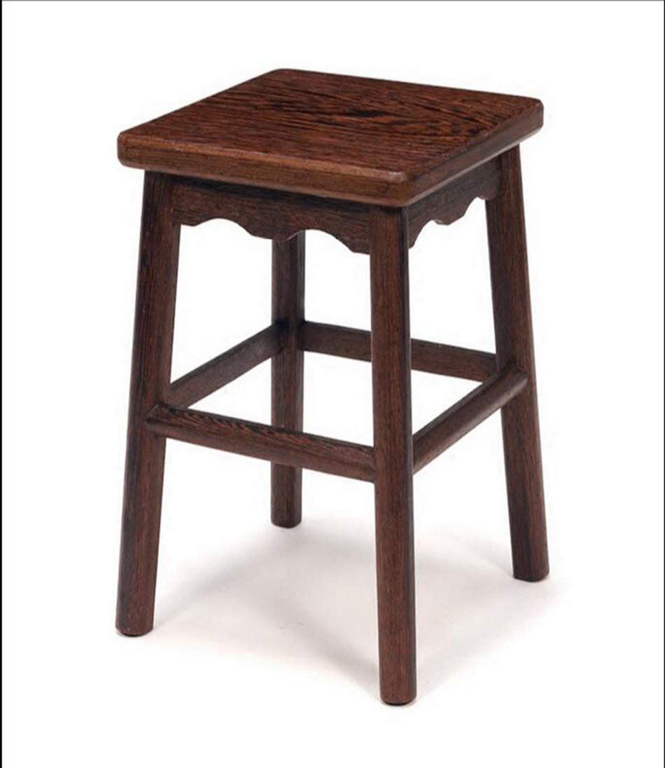 462929CM JZX Practical Chair Stool, Household Wooden Stool,The Best Choice for a Restaurant Cafe Lounge