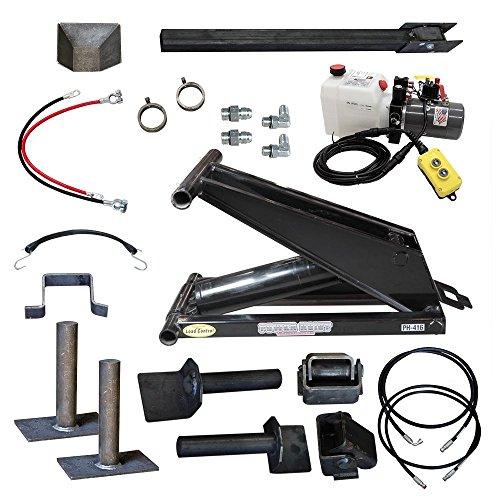 6 Ton (12,000 lb) Dump Trailer Hydraulic Scissor Hoist Standard Kit- Power Hoist 416 ()