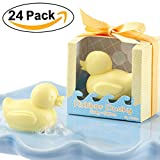 Baby Shower Favors Cutest Duck Soap Favors for Wedding Gift Soap or Handmade Baby Shower Soap Favors 24PCS