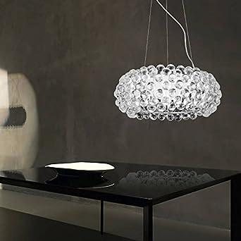 Hengda 36w Led Hangelampe Modern Acryl Kreative Kronleuchter Weiss