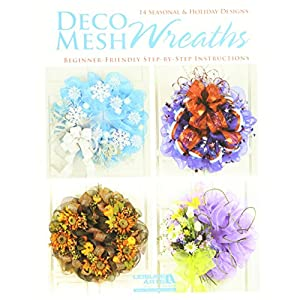 Leisure Arts-Deco Mesh Wreaths 17