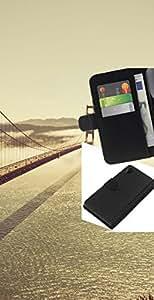 YiPhone /// Tirón de la caja Cartera de cuero con ranuras para tarjetas - SF Bay Bridge - Sony Xperia Z2 D6502