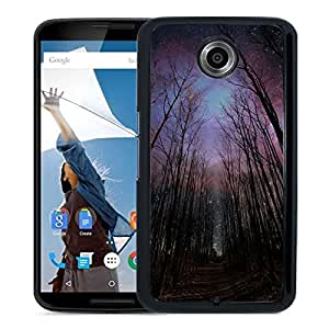 Wither Trees Towards Shiny Starry Sky Durable High Quality Google Nexus 6 Case