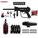 MAddog Tippmann A5 A-5 w/Response Trigger Advanced Paintball Gun...