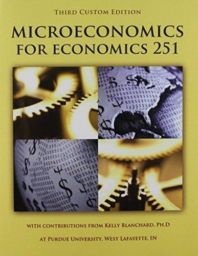 Microeconomics Purdue Custom