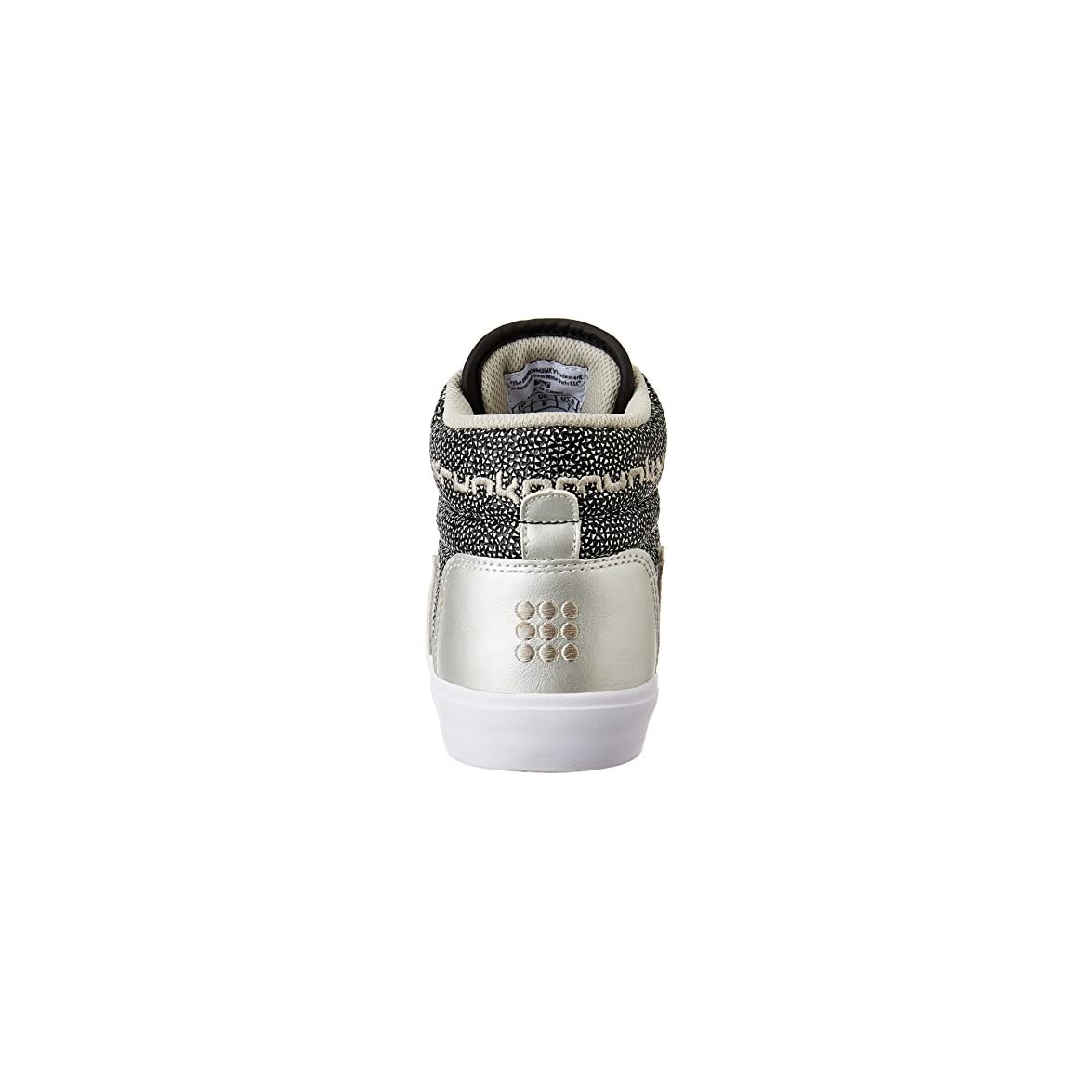 Drunknmunky Sneakers Zeppa Silver Scarpe Donna Boston Galaxia 307 40