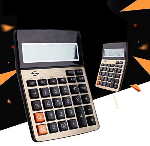 ABM Calculadora Computadora de Voz, Voz en Vivo, 12 bits, Pantalla Grande, economía, calculadora, Soporte, Calendario de...