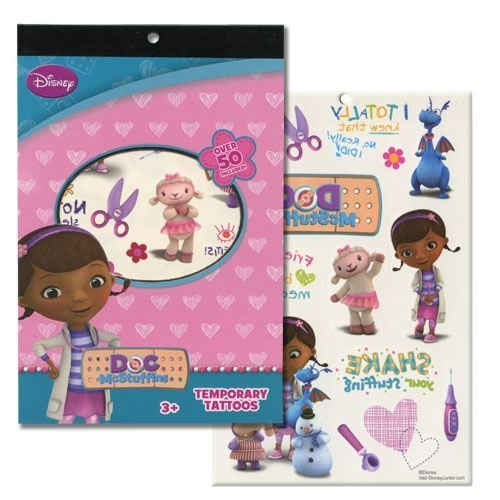 Disney Temporary Tattoo Book Party Accessory (Doc McStuffins)