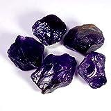 101.35Cts 100% Natural Purple Amethyst Specimen Facet Rough 5 Pcs Wholesale Lot