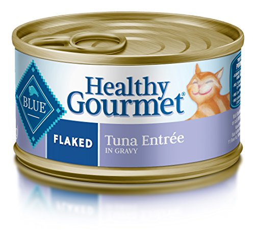 Blue Buffalo Flaked Tuna Wet Cat Food, 3 oz Can, Pack of 24