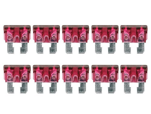 Car Truck Blade Fuse ATC Fuses 40A 10PCS Motorcycle Boat Assorted Set