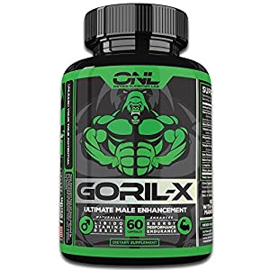 GORIL-X Male Enhancement Pills (60 Capsules) #1 Enlargement Formula! Increase Size - Extra Strength Horny Goat Weed - All Natural Enhancing - Huge Man - Larger, Thicker, Enhance Energy Performance! Enhancement Pills - 51UnBZjE10L - Enhancement Pills