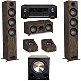 Jamo Studio Series 3.1.2 Walnut Home Theater System with S 809 Towers and Denon AVR-X3400H Receiver
