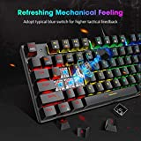 PICTEK TKL Mechanical Gaming Keyboard, RGB LED