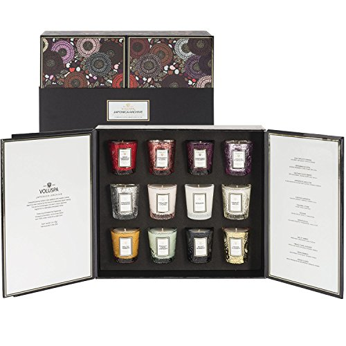 - Voluspa Japonica Candle Archive Gift Set 12 Pack
