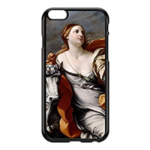 Europa and the Bull by Guido Reni Black Hard Plastic Case for iPhone 6 Plus by Painting Masterpieces + FREE Crystal Clear Screen Protector