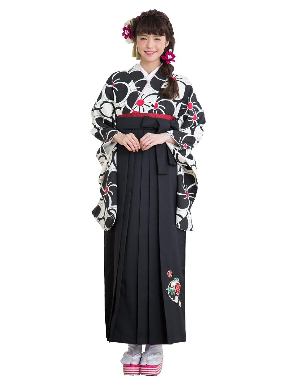 【さらさ】 二尺袖 着物 袴 セット 鈴木優華 着用 haki-12 B076FWNXX2  Mサイズ No.2