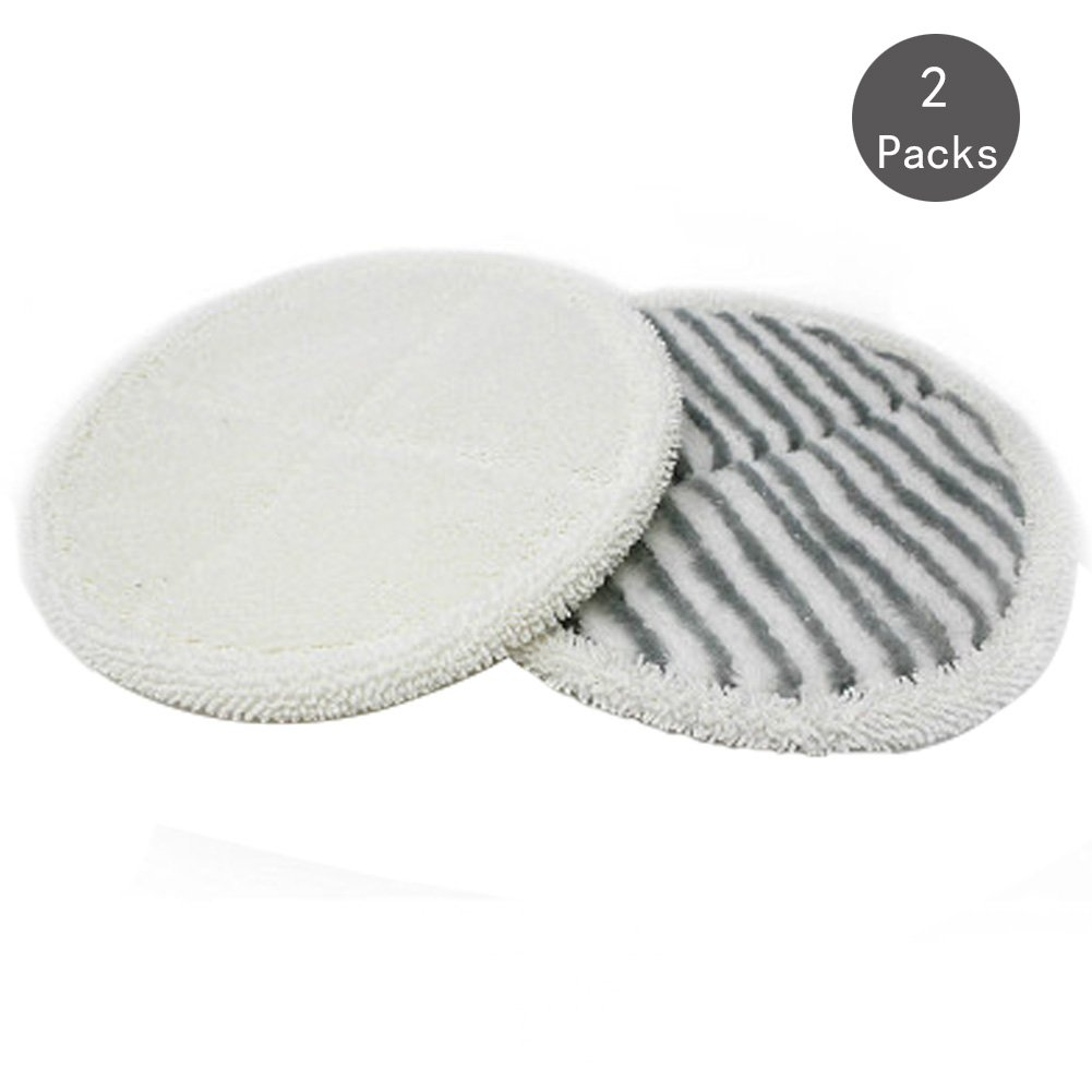 Deylaying 2 Sets Doux Microfibre Mop Pads Nettoyer Remplacement pour Bissell Spinwave 2124//2039A Vacuum Cleaner