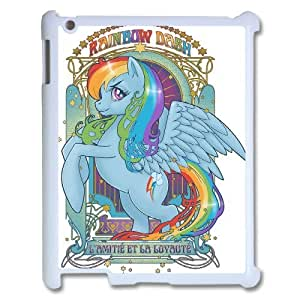 High Quality {YUXUAN-LARA CASE}Cartoon My Little Pony For Ipad 2/3/4 Case STYLE-18