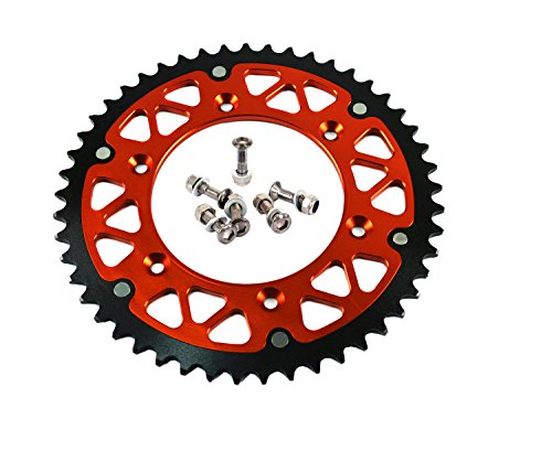 51T REAR 520 SPROCKETS FOR KTM EXC SX SFX XCW ALL MODELS 92-14 RACING OFF ROAD MOTORCYCLE
