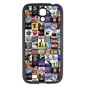 Deal Market LLC -Broadway Musical New York Collage Samsung S4 Hard Plastic Case Includes Screen Protector by Maris's Diary