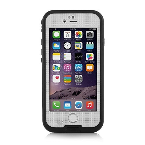 Merit iPhone 6 Plus/6s Plus Waterproof Case, [New Version] Snowproof Dirtproof Shock-Resistant...