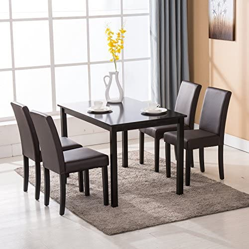home, kitchen,  furniture 7 picture Mecor Upholstered Dining Chairs Set of 4, Kitchen in USA
