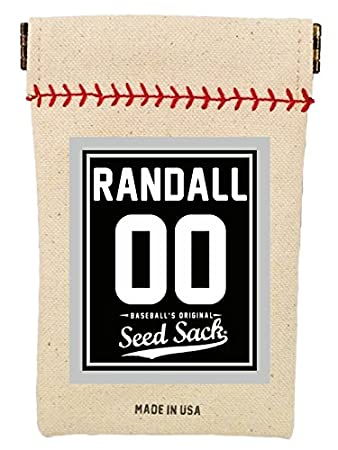 Baseball's Original Seed Sack for Sunflower Seeds (Includes 6 one Ounce  Packs) Fits in Your Back Pocket  Take it on The Field!