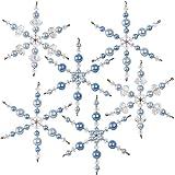Solid Oak NC004 Crystal/Blue Snowflakes Ornament Kit
