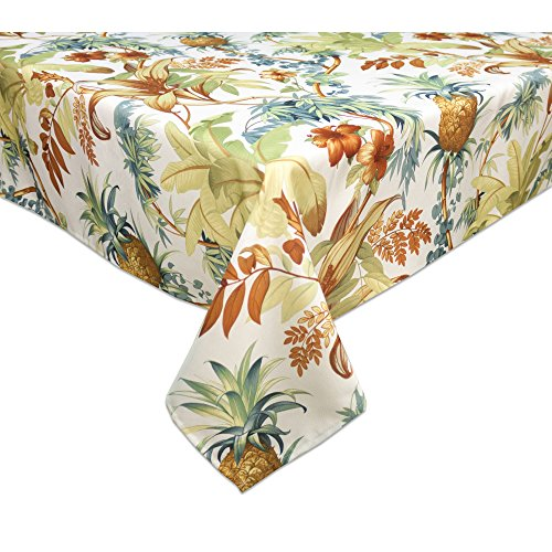 """Tommy Bahama Tortuga 60""""X120"""" Oblong Tablecloth"""
