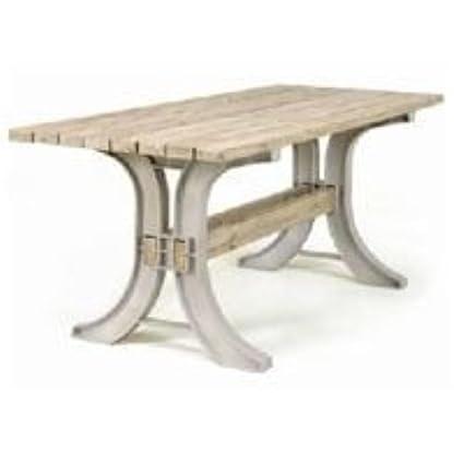 2x4 basics anysize patio table set - Table Chaise