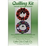 LAKE CITY CRAFT Quilling Kit, Halloween Wreaths