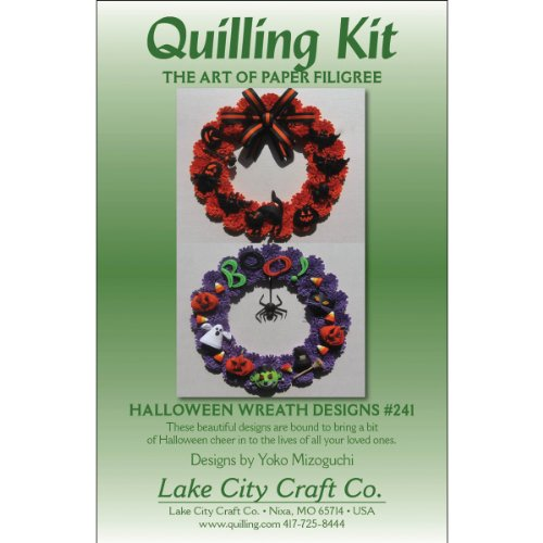 LAKE CITY CRAFT Quilling Kit, Halloween Wreaths for $<!--$9.20-->